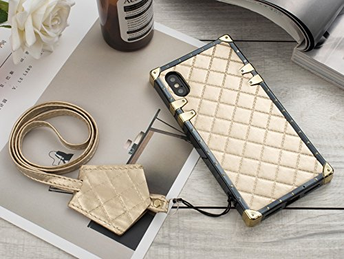 reputable site 6b071 796cb HeiL iPhoneX/XS Trunk (US Deliver Guarantee Fulfilled by Amazon) New  Elegant Luxury PU Leather Classic Style Cover Case for Apple iPhone X  iPhone Xs ...