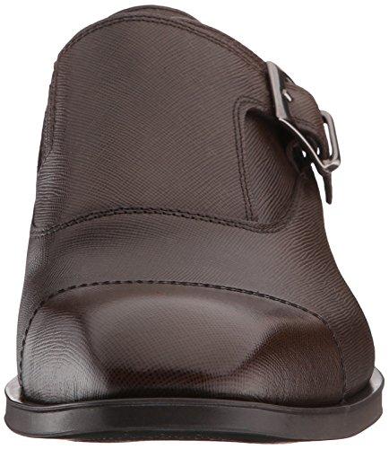 Donald J Pliner Para Hombre Sergio-tk Monk Strap Flat Expresso Textured