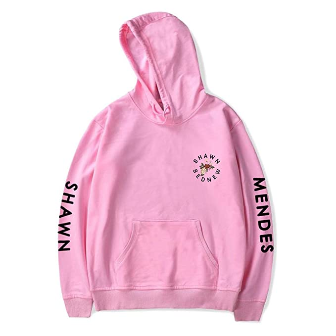 Amazon.com : BZWZH Men Long Sleeve Cotton Hoodies Sweatshirts Shawn Mendes Hooded Pullover with Pocket Girls Unisex Spring Sweatshirts Fan Pullover : Sports ...