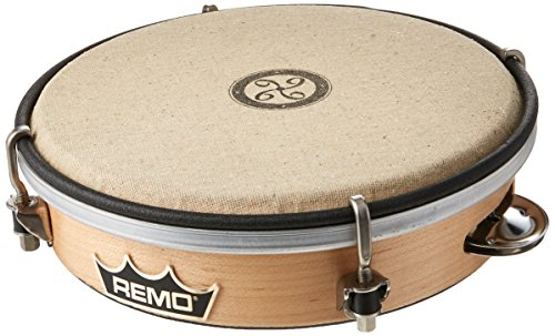 REMO Kanjira, Key-Tuned, John Bergamo, 7'' Diameter, 7'' Depth by Remo
