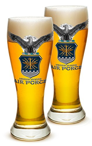 United States Air Force Honor Guard - SET OF 2 United States Air Force MCMXLVII 23 Ounce Pilsner Pub Glasses