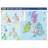 Philip's Britain and Ireland Wall Map: School Edition