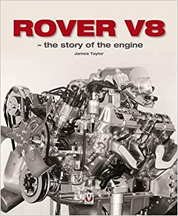 Book Rover V8 the story of the engine