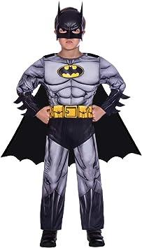 Disfraz de superhéroe para niño - Batman clásico - Pequeño (4-6 ...