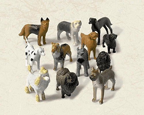 Amscan Party Perfect Miniature Dog Assortment Favors, 2 1/2