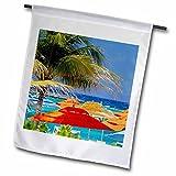 Cheap Danita Delimont – Bahamas – Umbrellas at Castaway Cay, Bahamas, Caribbean – CA05 KWI0005 – Kymri Wilt – 18 x 27 inch Garden Flag (fl_134071_2)