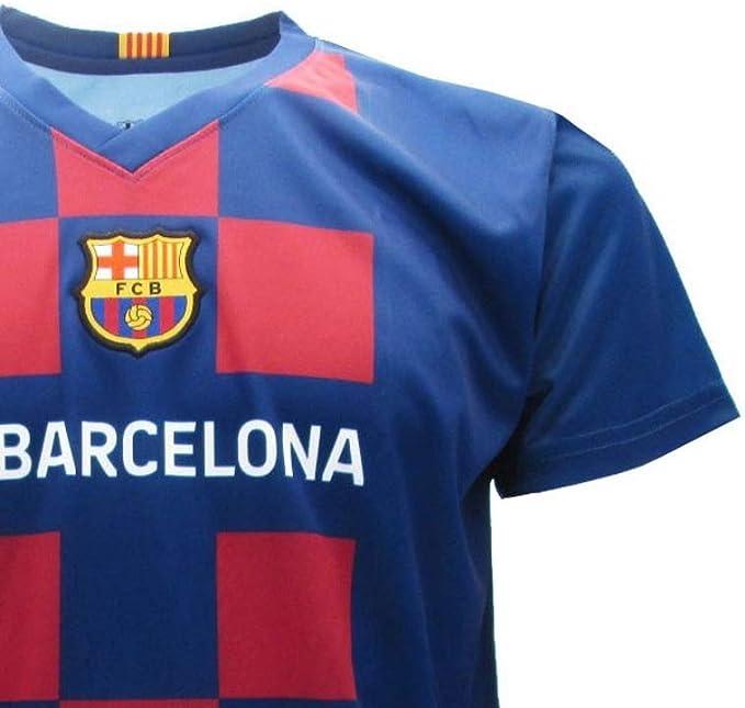 Antoine Griezmann 17 Barcelona FCB Camiseta 2019/2020 Barcellona Barça Réplica Oficial Auténtico Jersey T-Shirt Tamaño Niño (Años 2 4 6 8 10 12 14) y ...