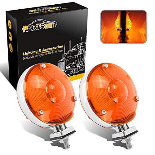 Partsam Waterproof 2X LED 4