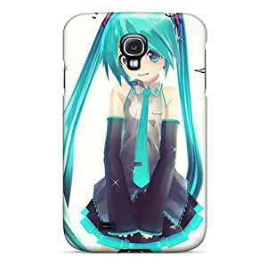 High Quality Phone Covers For Samsung Galaxy S4 With Unique Design Fashion Hatsune Miku Pattern MansourMurray