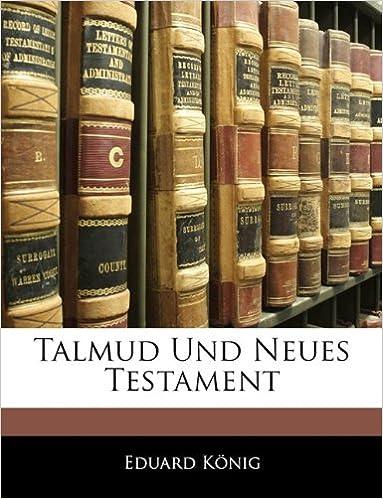 Talmud Und Neues Testament