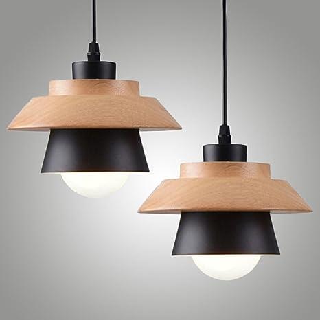 Modern del Norte de Europa Individual colgante lámpara de ...