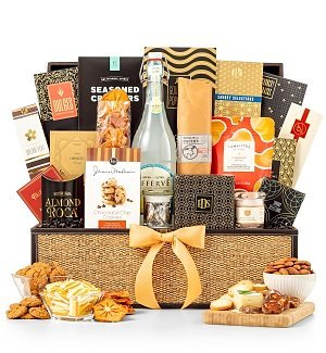 gence Gourmet Gift Basket - Assortment of Charcuterie and Fruits, Premium Gift Basket for Men or Women (Gifttree Fruit Basket)
