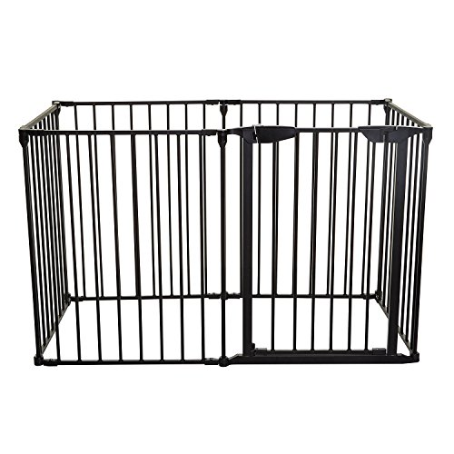 Dreambaby Mayfair Converta 3 In 1 Play-pen 6 Panel Gate, Black by Dreambaby (Image #1)