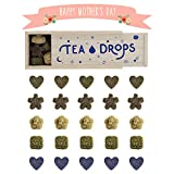 Tea Drops Instant Organic Pressed Teas | Large Herbal Tea Sampler Assortment Box | Eliminates the Need for Teabags and Sweetener Packets | Great Gift for Tea Lovers | Delicious as Hot or Iced Tea