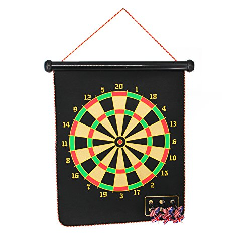 Review Magnetic Dart Board Game