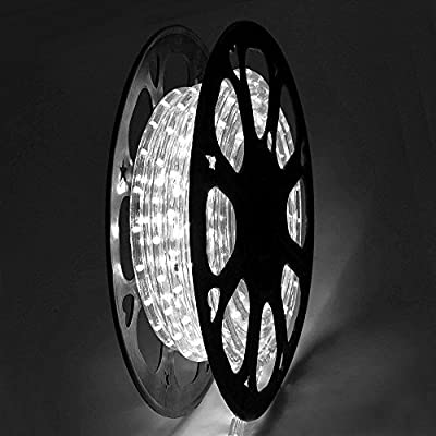 CHIMAERA Outdoor Lighting LED Rope Light w/ Connector 50ft Color Opt