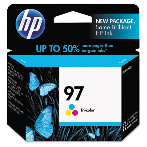 HP Ink C9363WN#140 97 Tri-Color 450 pg yield, Sold as 1 Each