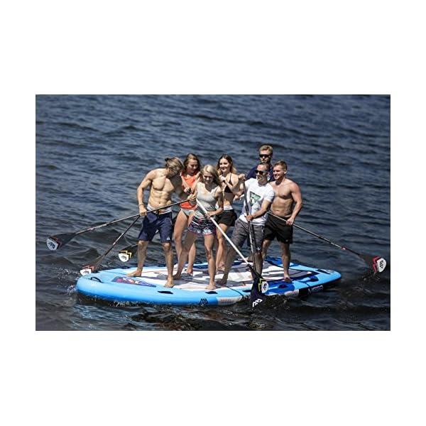 Marina MEGA 18.1 iSUP Sup Stand Up Paddle Board fino a 650 kg 2 spesavip