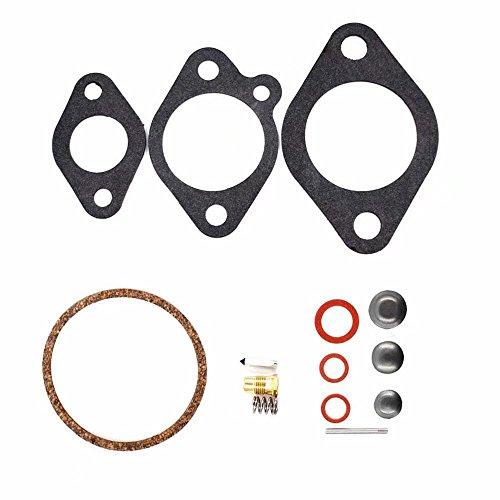 KingFurt Carburetor Rebuild Kit for Chrysler Force Outboard 9.9 15 75 85 105 120 130 135 150 HP Replaces 18-7037