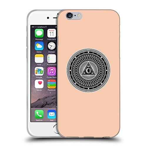 GoGoMobile Coque de Protection TPU Silicone Case pour // Q08220604 Mystique occulte 1 Abricot // Apple iPhone 7