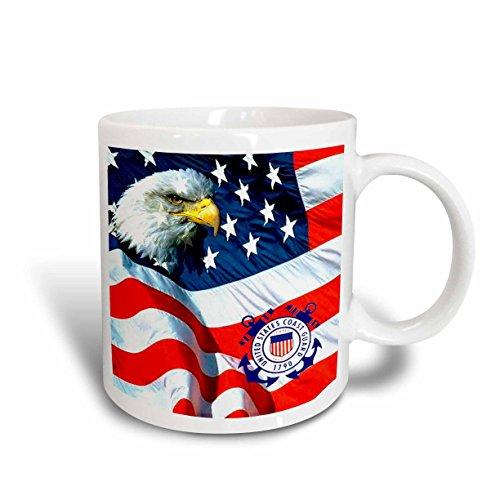 Coast Mug Guard (3dRose U.S. Coast Guard Mug, 15-Ounce)