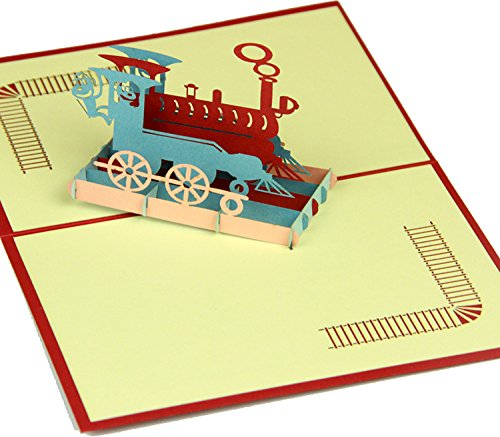 lovely-paper-card-3d-pop-up-folding-greeting-card-train