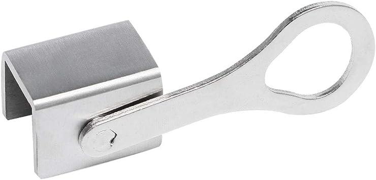 Sourcingmap - Tope de puerta corrediza para ventana (acero inoxidable, con llaves, no requiere herramientas): Amazon.es: Bricolaje y herramientas