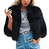 Clearance Women's Coat Muranba Ladies Winter Warm Faux Fur Outerwear