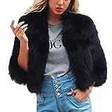 Hemlock Women Short Outerwear Sweater Party Faux Fur Cardigan Coat Blazer Jackets Keep Warm Overcoats