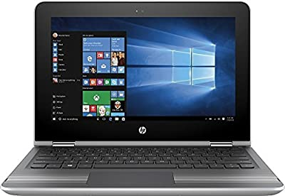 "Newest HP Pavilion Premium High Performance 2-in-1 Convertible Laptop PC, 11.6"" HD Touch-Screen IPS Display, Intel Pentium Core N3710, 4GB Memory, 500GB HDD, Bluetooth, Wi-Fi, HDMI, Windows 10"