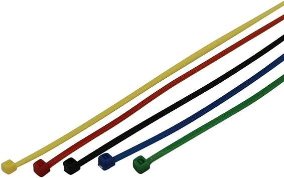 Unitec 44746 Kabelbinder Set 150x2 5mm Farbig Sortiert 50x 50 Stück Baumarkt
