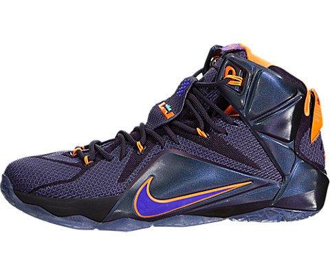 f708e75718c16 ... Nike Lebron 12 (Instinct) Cave Purple Hyper Grape-Hyper Crimson-Hyper  Turquoise ...