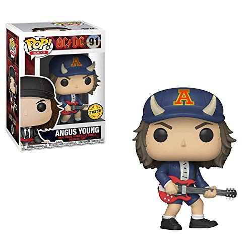 Funko POP Rocks Vinyl Figure - AC/DC Angus Young Chase ()