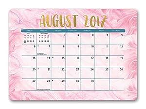 Amazoncom Orange Circle Studio Decorative Desk Blotter - Desk blotter calendar