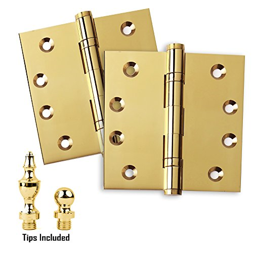 Solid Brass Butt Hinge - 8