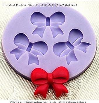 Lavillede Colore della muffa del silicone della decorazione della torta del fondente animale marino casuale