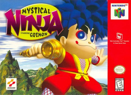 N64 - Mystical Ninja 1 Starring Goemon: Amazon.es: Videojuegos