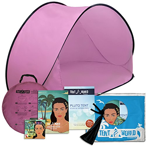 Pluto Pink Beach Tent: An amazing accessory for your kids...