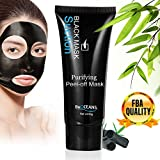 Peel-off Mask,Blackhead Remover Mud Face Mask, Suction Black Msk,Face Mask for Blackheads Remove,Tearing Style Deep Cleansing Purifying Peel off the Blackhead