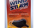 Storm Windstorm Whistle (Black)