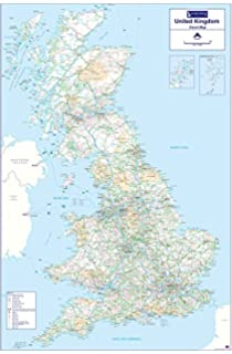 Rail Map Of Ireland.Rail Map Of Britain Ireland 8th Amazon Co Uk Thomas Cook