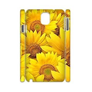 EZCASE Sunflower Phone Case For samsung galaxy note 3 N9000 [Pattern-1]