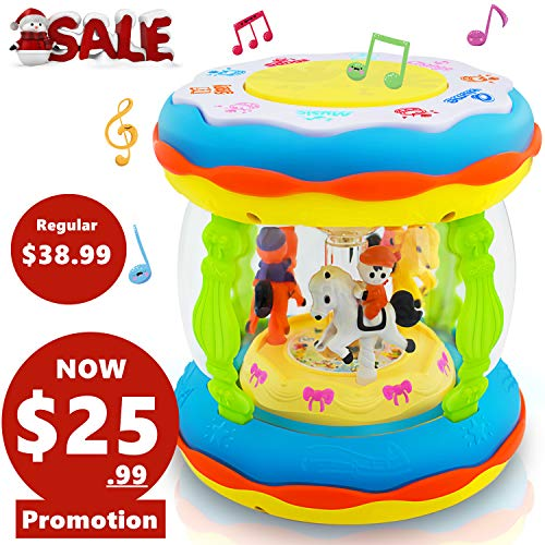 HXSNEW Toddler and Baby Musical Toys, Learning Toys for 1-3 Year Old Boys and -