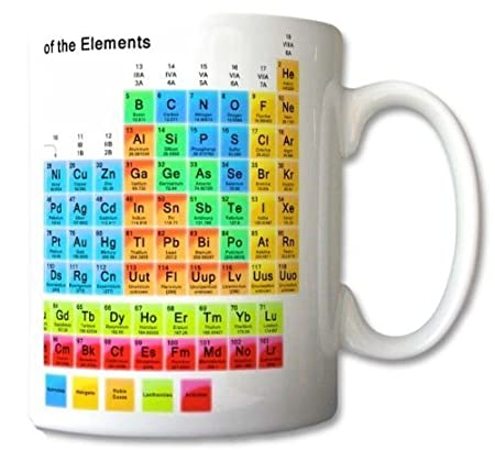 Periodic table of the elements mug chemistry student teacher gift periodic table of the elements mug chemistry student teacher gift cup gift retro urtaz Images