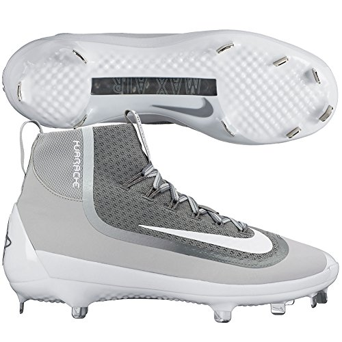 Nike Metal 12 2kfilth Mid Blanco Cleats Huarache Elite Gris Air US Hombres SqwSYrg