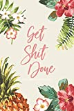 2019 - 2020 18-Month Diary; Get Shit Done: UK Month to View Calendar, Schedule Planner and Appointment Diary; Floral (Appointment Books, Monthly Calendar Planners and Personal Organisers) by Cheeky Little Diaries