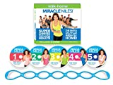 Leslie Sansone: Miracle Miles 5 DVD Set featuring Free Super-Sculpting Chain Link Band: more info