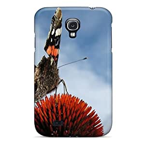 Awesome Colourful Butterfly Flip Case With Fashion Design For Galaxy S4
