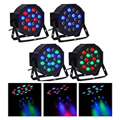 These lights are perfect for DJ sets, parties, dances, stage performances, clubs etc. Cased in high quality plastic, the light is slim yet durable. It uses the latest LED technology and counts 18 LEDs (6 red + 6 green + 6 blue). Combined, the...