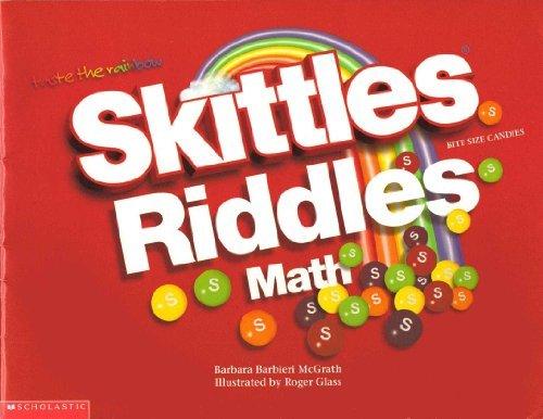 Skittles bite size candies riddles math